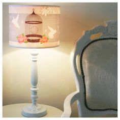 We love a little vintage too. Surely one of the most romantic lampshades ever?!