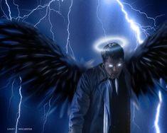 Explore the Castiel-Misha collection - the favourite images chosen by Gabriel-loki on DeviantArt. Supernatural Fans, Supernatural Drawings, Supernatural Wallpaper, Supernatural Pictures, Satan, Castiel Angel, Close My Eyes, Angels And Demons, Superwholock