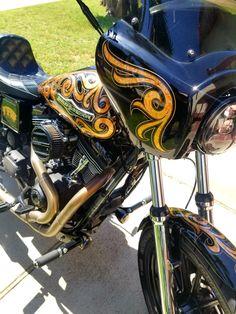 Pinstripes Car Bike Chopper Harley Fender Tank Helmet Window Vinyl Decal Sticker P-12