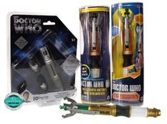 sonic screwdriver collector set of 10th 11th 12th doctor toy replica