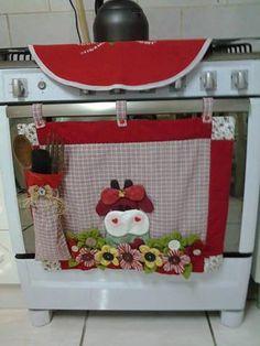 1000 images about lenceria cocina en fieltro on pinterest - Patchwork para cocina ...