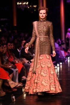 Lakmé Fashion Week – Sabyasachi Mukherjee at LFW WF 2013