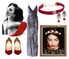 """""""Cornelia for A. O'Donnell"""" by andyryan on Polyvore featuring Fleur du Mal, Shashi, Atwell and Alexander McQueen"""