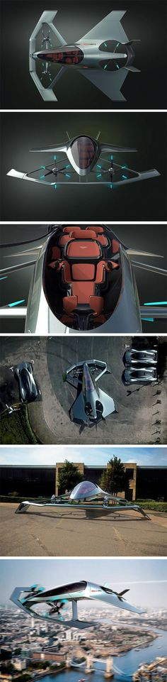 With the Volante Vision Concept, Aston Martin is taking to the skies Robot Concept Art, Concept Cars, Aston Martin, Archery Photography, Mexico 2018, Flying Vehicles, Flying Car, Drone Technology, Engin