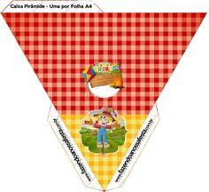 Caixa Piramide Festa Junina