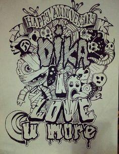 Doodle art... #doodle #doodlemonster #art #drawingpen #jaroot_art