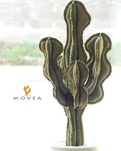 Succulent, handmade candelabra made in Italy