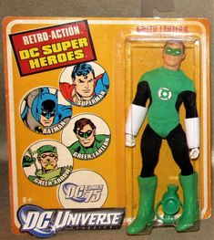 """New (MOC) DC Comics Retro Action Super Heroes Green Lantern Figure 8"""" Mego Style: $59.99 End Date: Wednesday May-9-2018 23:58:26 PDT Buy It…"""