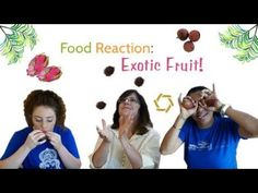 Food Reaction: Exotic Fruit! . . . . . . #fruit #exoticfruits #tastetesting #food #foodgasm #foodrecipes #yummy #review