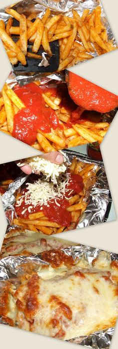 OMGosh - Pizza Fries - the finished product looks sooooo Good!
