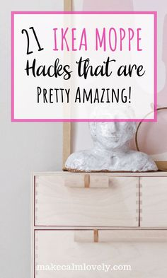 21 IKEA Moppe Hacks that are Pretty Amazing #IKEA #IKEAHacks #Hacks