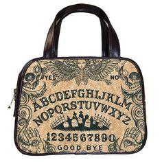 Ouija Board Handbags multi listing by StuffoftheDead on Etsy, $35.99