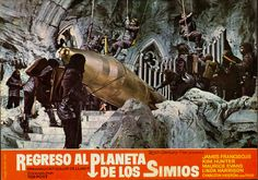 Archives Of The Apes: Beneath The Planet Of The Apes (1970) Spanish Lobby Cards