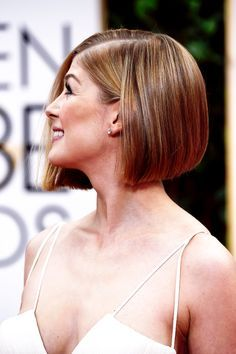 women with highly shaved and shorn exposed napes, short hair, bob haircuts, bald heads.