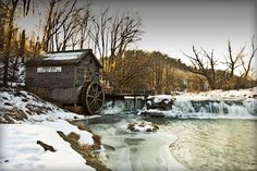 Hyde's Mill by CJ Schmit