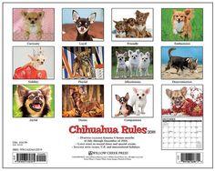 Chihuahua Rules 2015 Calendar