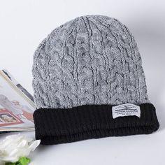 Aliexpress.com: Comprar La nueva europa y américa estándar sombrero parche AliExpress 2016 hombres calientes de moda caliente gorro de lana tejida de cap hat fiable proveedores en ororvv
