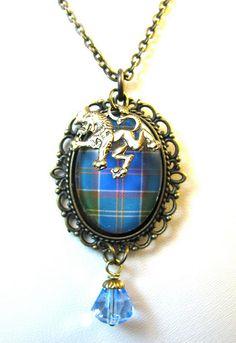 Ancient Romance Series - Scottish Tartans - Ayrshire Necklace