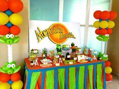 Idea atencion atencion birthday party