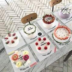 So easy to work with and sets nicely with a shine too it. Give yourself half hour to make it tho. Sweet Recipes, Cake Recipes, Dessert Recipes, Desserts, Pretty Cakes, Cute Cakes, Mini Cakes, Cupcake Cakes, Korean Cake