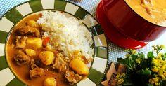 【電鍋料理】牛肉咖哩 的精彩食譜。