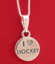 ♥♡ Hockey Necklace