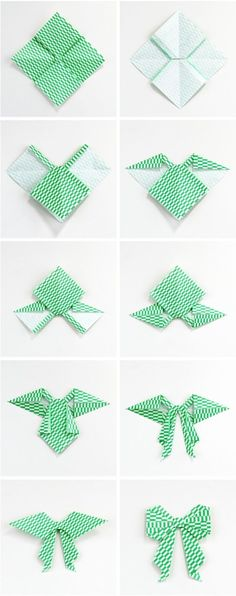Gathering Beauty: Diy Origami Bow.