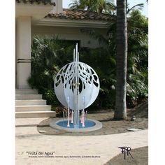 """Fruta del Agua"" | Anna-Maija Rees | #steel #sculpture | #stål #skulptur #escultura #acero #teräs #veistos #stahlskulptur"