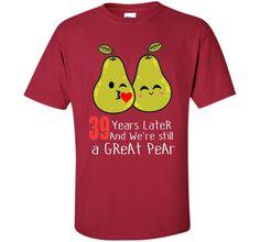 39th Wedding Anniversary Shirt Gifts Funny Couples T-shirt cool shirt