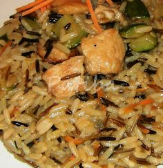 Riso Long & Wild con carne di pollo e verdure (3)