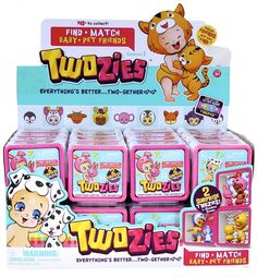 Twozies S1 Surprise Pack CDU | Moose Toys