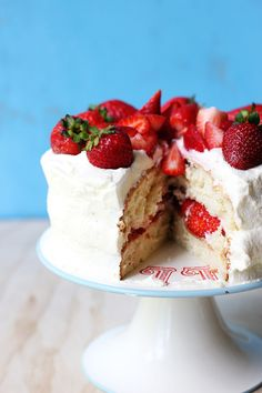 A Swedish Midsommar Cake - similar to Strawberry Shortcake and absolutely beautiful