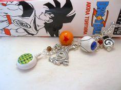 Dragon Ball Charm Bookmark - Polymer Clay by *AliaBierwag on deviantART