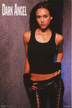 """A great poster of Jessica Alba as """"Max"""" from TV's Dark Angel. An original published in 2001! Fully licensed. Ships fast. 22x34 inches. Need Poster Mounts..?"""
