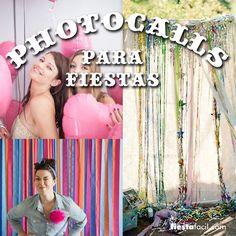 ¿Por qué poner un photocall en tu fiesta? Ver por qué en www.fiestafacil.com / Why set up a photocall at your party? See why in www.fiestafacil.com