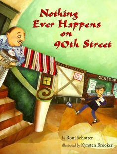 Genre: Fictional Picture Book Nothing Ever Happens on 90th Street This book is about a child who realizes that there's a story hiding in plain sight in her neighborhood. It encourages personal growth when the girl must learn how to write a story on her own, and find new sources of inspiration from the people and places around her. http://www.amazon.com/Nothing-Ever-Happens-90th-Street/dp/0531071367/ref=sr_1_1?s=books&ie=UTF8&qid=1449725619&sr=1-1&keywords=nothing+ever+happens+on+90th+street