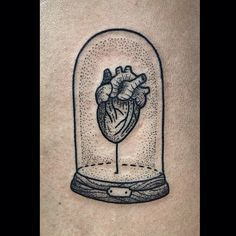 Heart and stolp tattoo by Susanne König Pretty Tattoos, Love Tattoos, Tattoo You, Beautiful Tattoos, Body Art Tattoos, Tatoos, Anatomical Tattoos, Anatomical Heart, Dibujos Tattoo