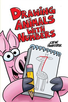 This is all NEW updated version of the book Drawing Animals With Numbers has many of the classic animals as well as a brand NEW cast of characters to draw. Take ordinary numbers, add lines a few lines How To Make Drawing, Drawing For Kids, Art For Kids, Learn Drawing, Book Drawing, Drawing Tips, Drawing Pictures, Drawing Ideas, Drawing Animals