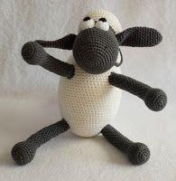 haakhooked: Gratis haakpatroon Shaun the Sheep