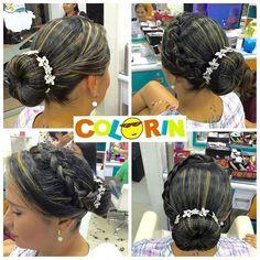 Más de los #bellos #peinados en #colorin #peluqueria #hair #trenza #trenzas #girls #girl #treccia #tresses #braid #braids #braidsforgirls