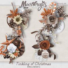 Digital Art :: Element Packs :: Tinkling of Christmas - embellishements