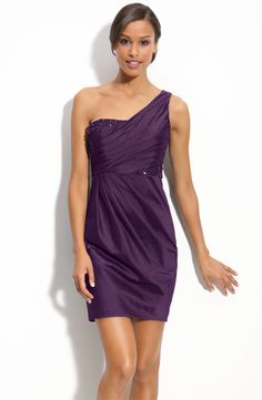 Came across this deep purple fun flirty dress...that could be worn again, don't you think?