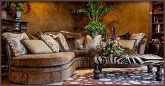 old world sectional sofas - Google Search