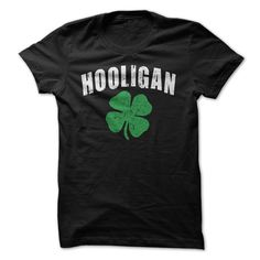 Hooligan T-Shirts, Hoodies. GET IT ==► https://www.sunfrog.com/St-Patricks/Hooligan.html?id=41382