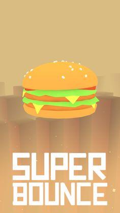 Burger   Super Bounce #gamedev #unity #games