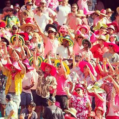 Great to see so many fans in pink at the SCG on #JaneMcGrathDay! India 5-342 at stumps on day three #AUSvIND