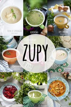 Zupy - dieta dr Dąbrowskiej Healthy Recepies, Raw Food Recipes, Soup Recipes, Diet Recipes, Cooking Recipes, Recipies, Whole Plant Based Diet, Low Glycemic Diet, Healthy School Lunches