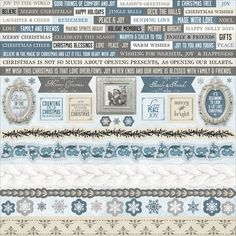 Kaisercraft Frosted Cardstock Stickers are the perfect addition to all your…