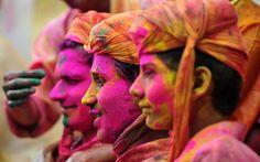 Lath mar Holi festival