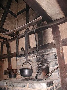 In common historic and modern usage, a hearth is a brick- or stone-lined fireplace or oven often used for cooking and/or heating. For centuries, the hearth was considered an integral part of a home, often its central or most important feature.